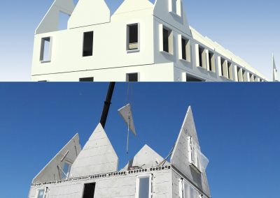 44 houses in Kwintsheul de Ranken, The Netherlands